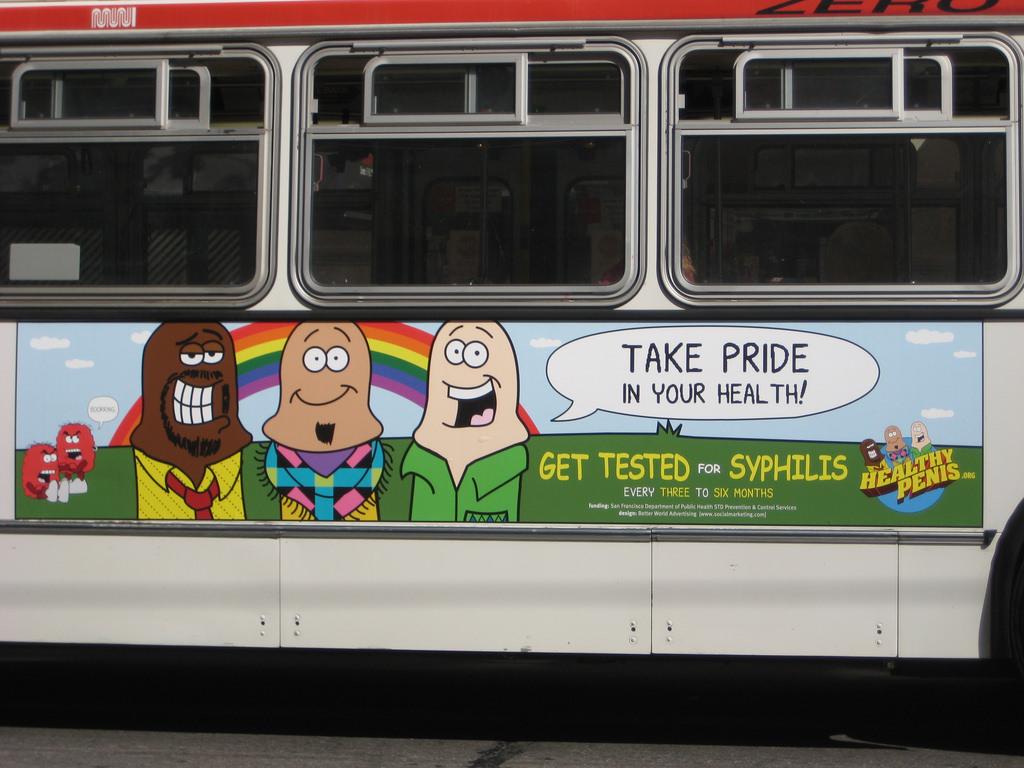 sex mascots healthy penis ad