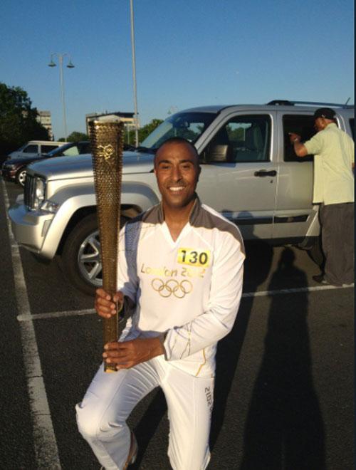 Colin Jackson, Olympic hurdler gay 987