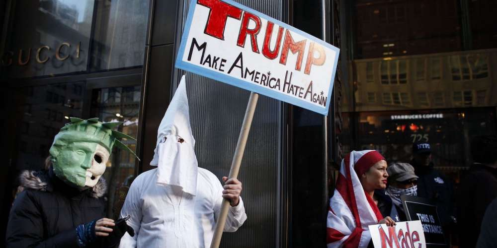 The Trump Tower Gift Shop Sold KKK Hoods and Rubber Pee Sheets, Thanks to Pranksters