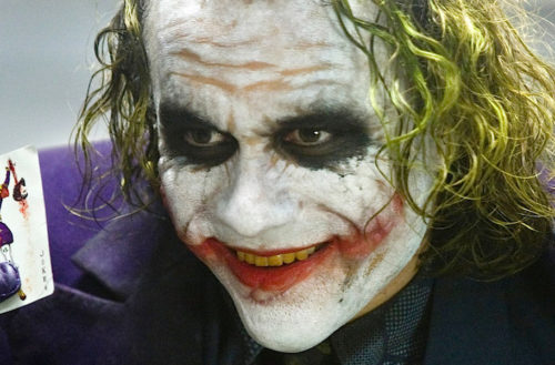 best joker - heath ledger