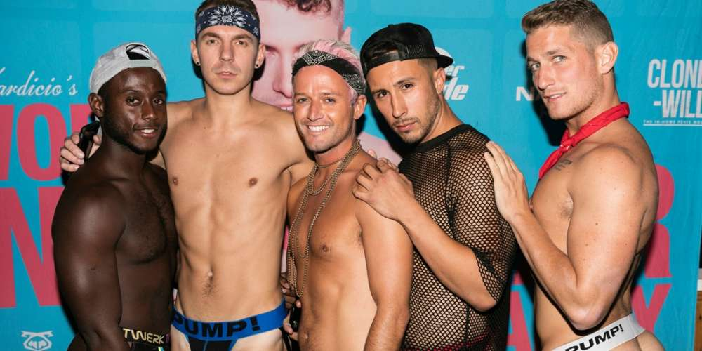 50 Sexy Photos from Daniel Nardicio's Fire Island Underwear Party