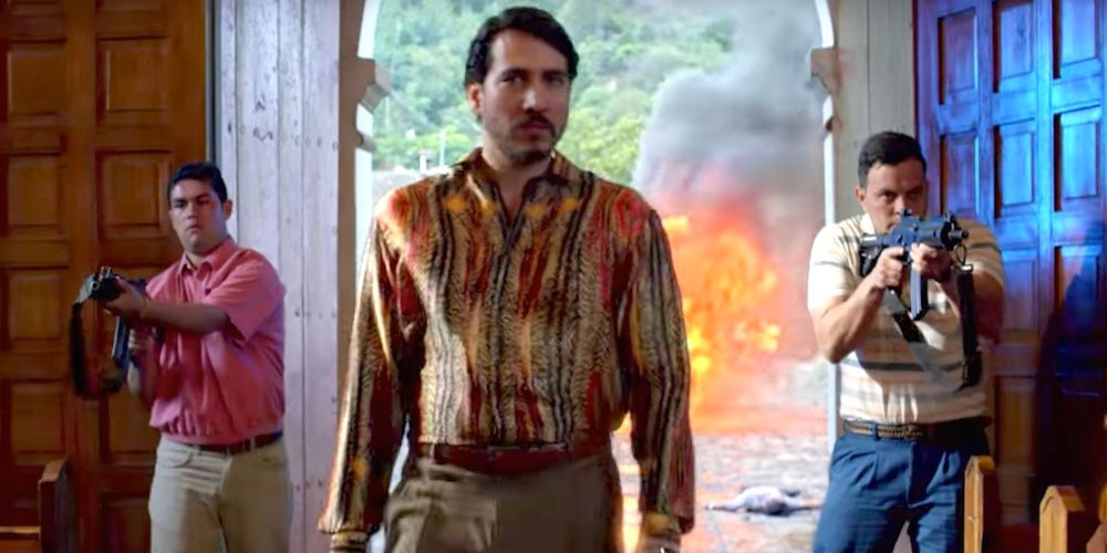 'Narcos' Season 3 Kicks Off With a Sexy Kiss From a Violent Real-Life Villain (Video)