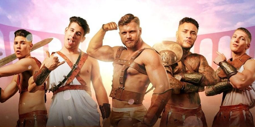 15 Sexy Gladiator Pics From 'Bromans', the Ancient Roman Reality TV Show
