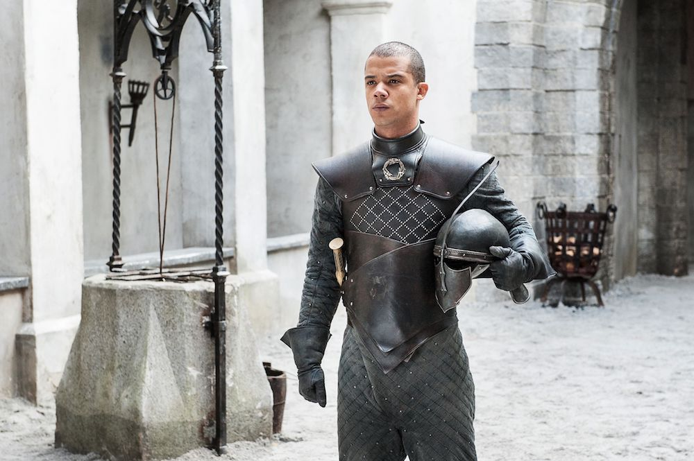 hottest game of thrones men grey worm
