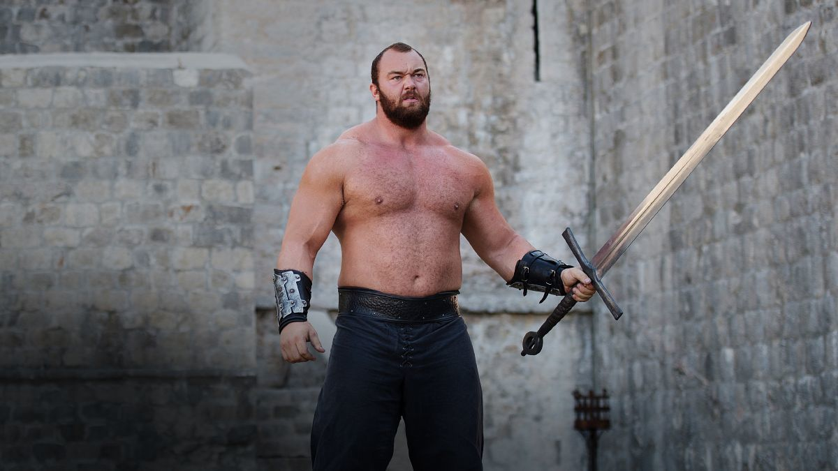 hottest game of thrones men mountain