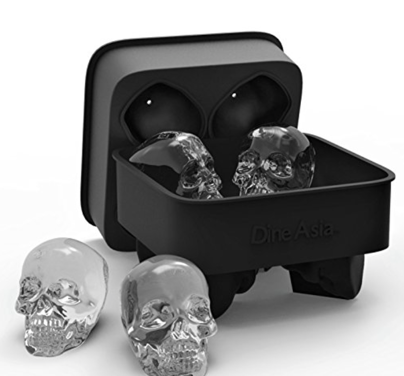 must haves skull ice cube tray