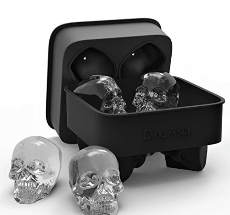 must haves skull ice cube tray