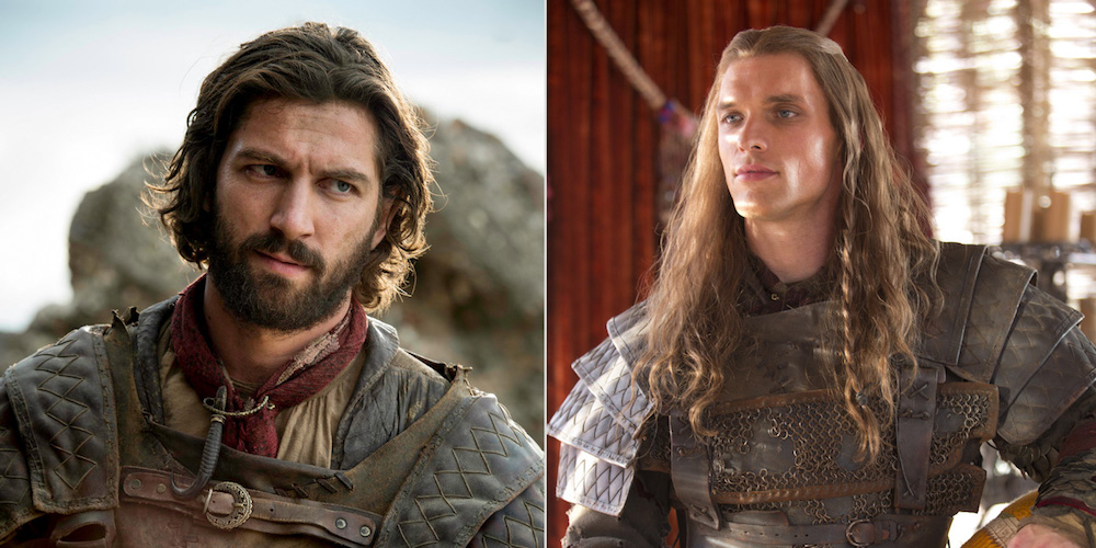 hottest game of thrones men daario
