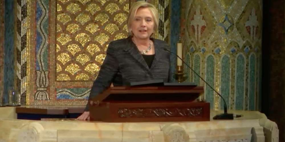 Hillary Clinton Made a Surprise Appearance and Gave a Eulogy at Edie Windsor's Funeral