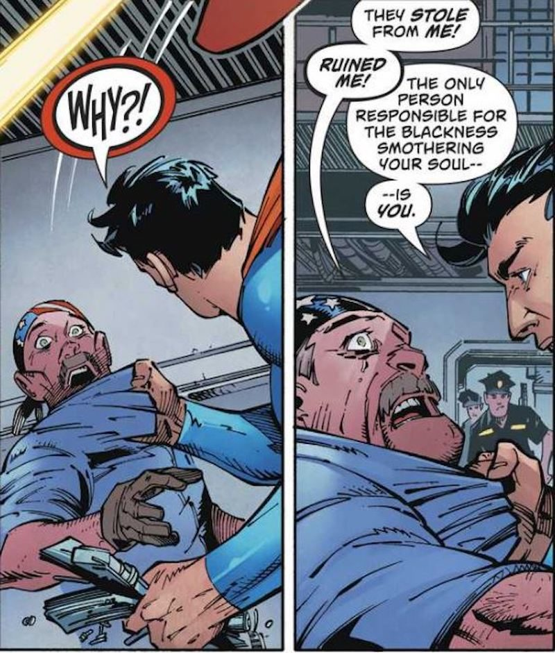 superman fights white supremacists