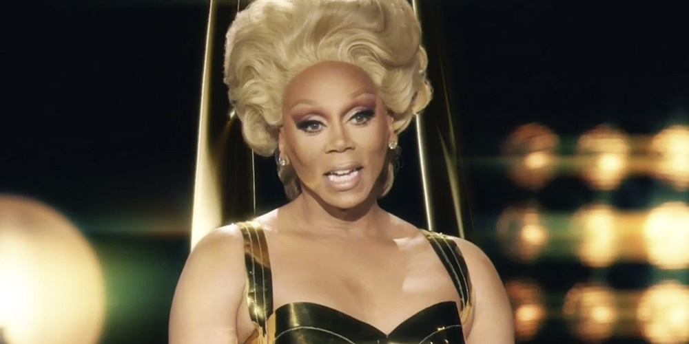 Watch RuPaul Play the Emmy Award Statue and Spill the Tea With Stephen Colbert
