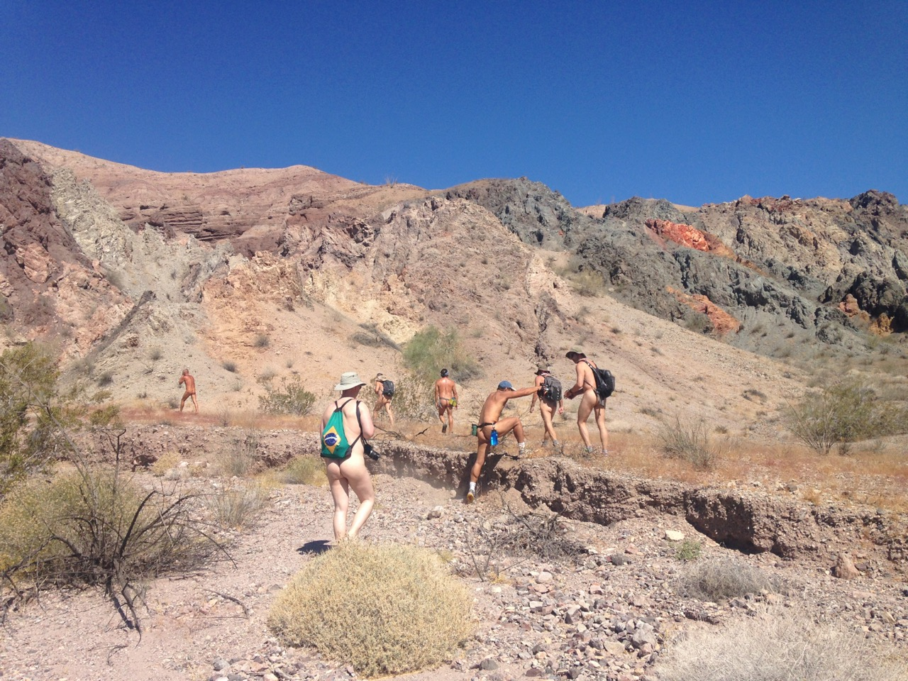 palm springs naked hike