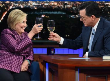 hillary clinton on stephen colbert