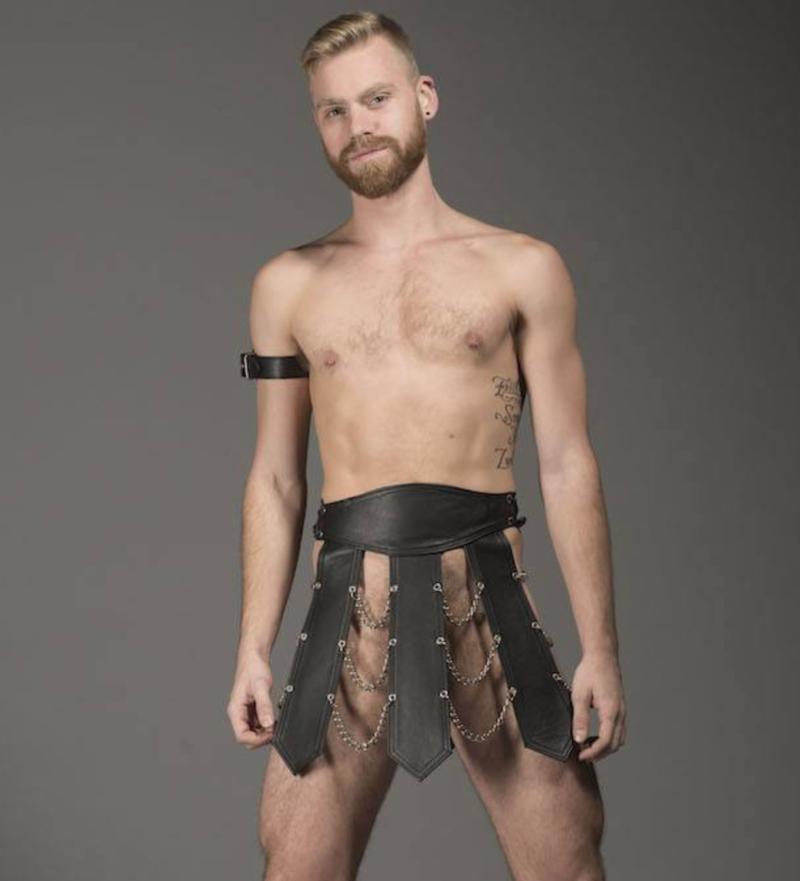 sexy leather gear folsom street leather man