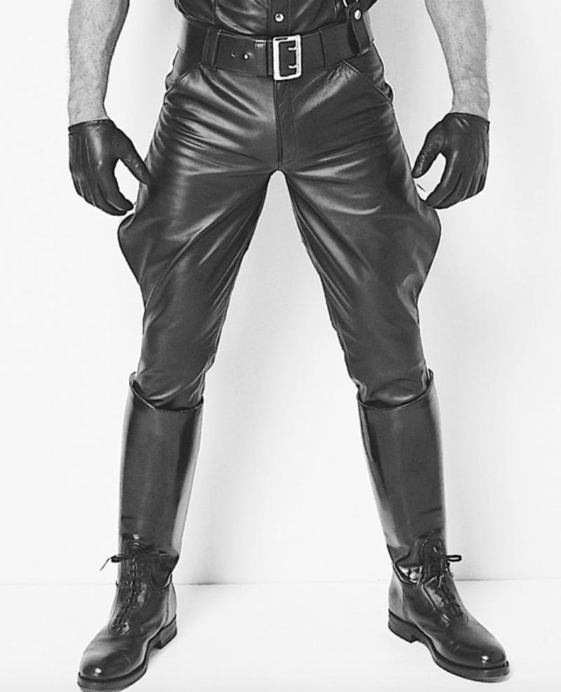 sexy leather gear folsom street fair