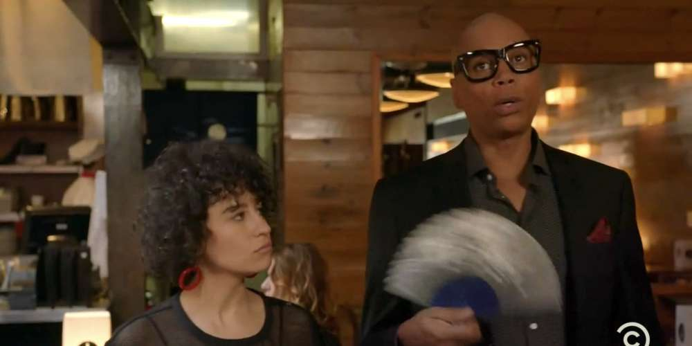 Last Night's 'Broad City' Was a Star-Studded Affair Featuring RuPaul, Sandra Bernhard and More