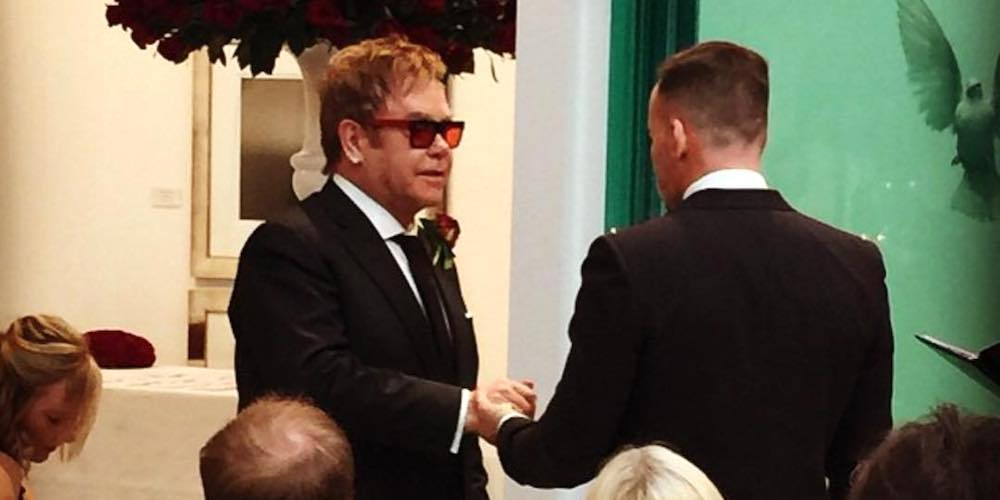 Read Elton John's Beautiful Tribute to His Husband in Support of Australian Marriage Equality