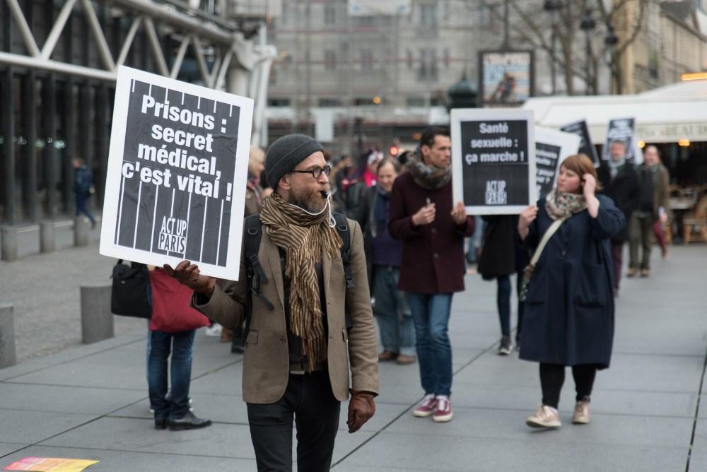 Act Up-Paris manifeste en mars pour les 30 ans d'Act Up-New York