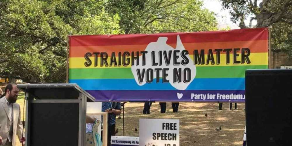 'Straight Lives Matter' Rally in Australia Draws Only 30 People