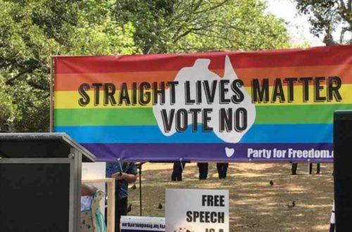 straight lives matter