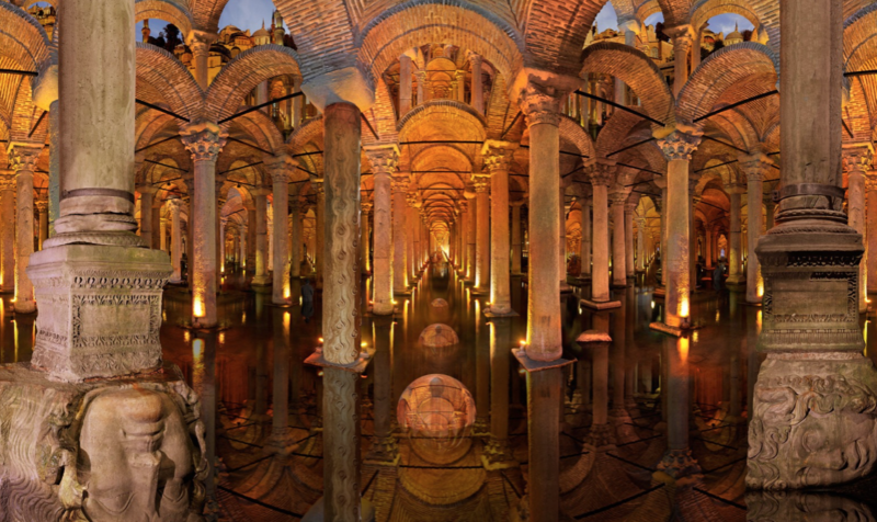 istanbul museums roman cistern