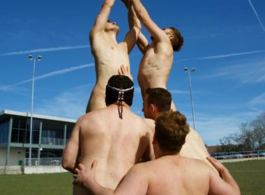 naked rugby players