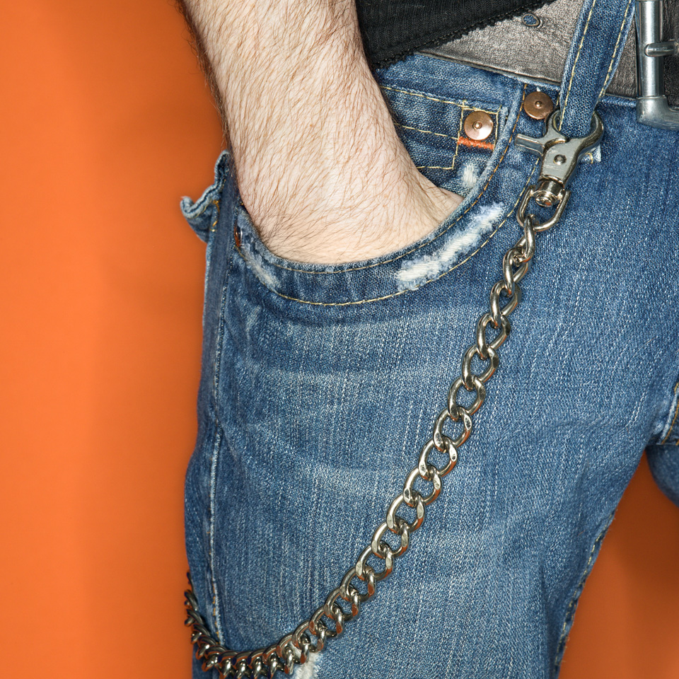 90s style wallet chain