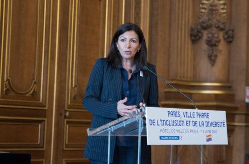 Anne Hidalgo, maire de Paris. Juin 2017.