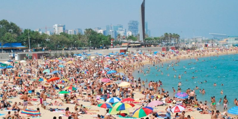 gay barcelona - beach