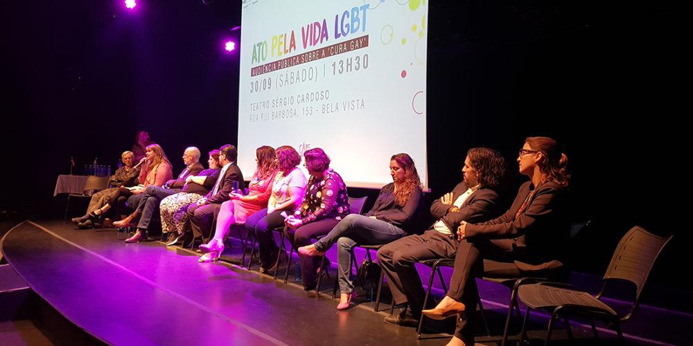 Ato pela vida LGBT teve declarações polêmicas de Jean Willys e Marina Lima
