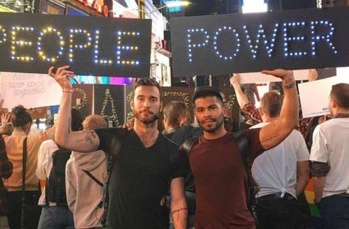 gays against guns rally