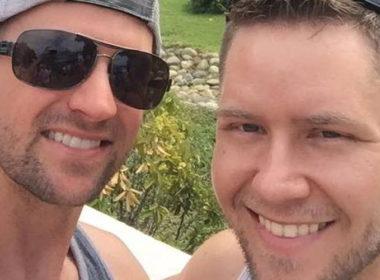 gay man las vegas, Cameron Robinson