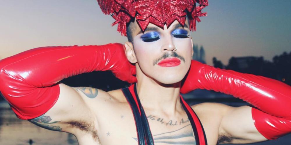 Instagram上的十七位男人展現了無性別的奇異裝扮