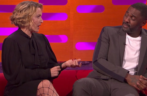 Idris Elba foot fetish Graham Norton / Idris Elba's Foot Fetish