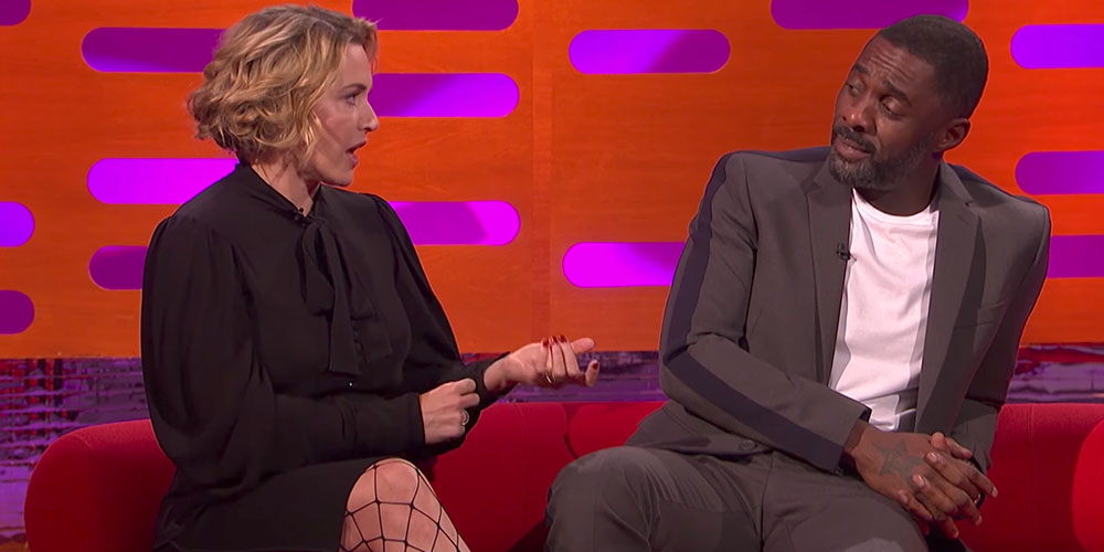 Ultimate Hunk Idris Elba Proudly Reveals His Foot Fetish to Kate Winslet During a Sex Scene
