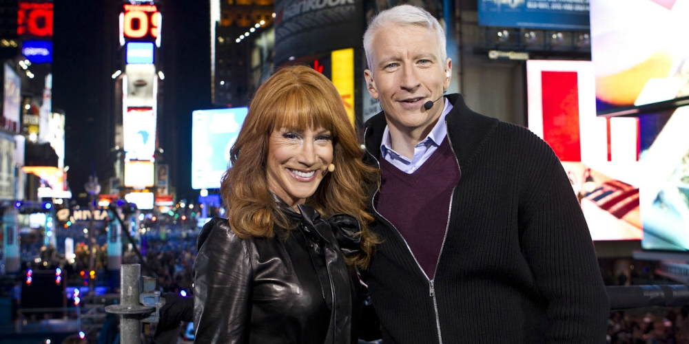 Kathy Griffin Wore a Trump Mask Onstage and Read a Scathing Letter to Anderson Cooper (Video)