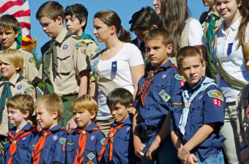 Boy Scouts girls teaser