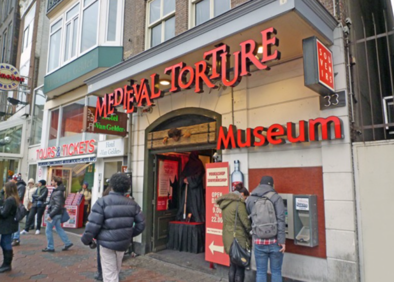 torture museum amsterdam