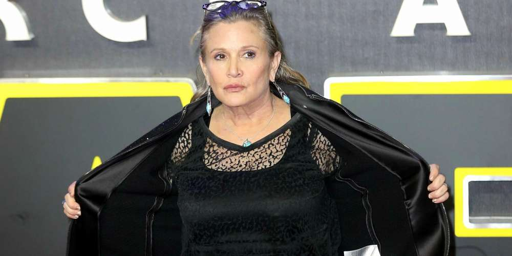 This Story of Carrie Fisher Standing Up to a Sexual Predator Will Make You Miss Her Even More