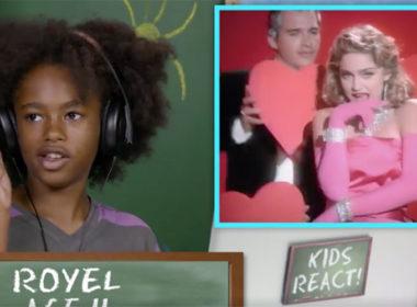 kids react to Madonna