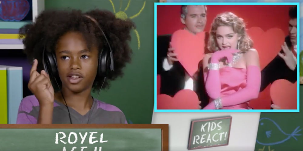 Watching These Kids React to Madonna Music Videos Proves the Queen of Pop Still Rules