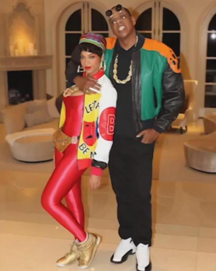 Beyoncé, Jay-Z, Halloween costume