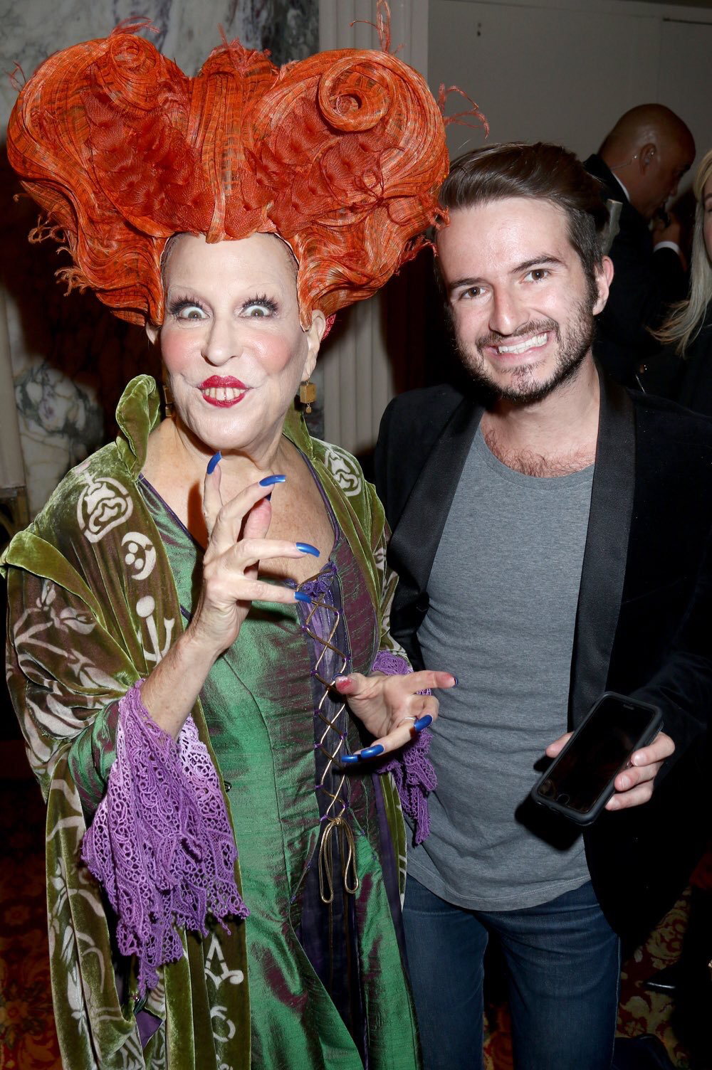 celebrity halloween costumes bette midler