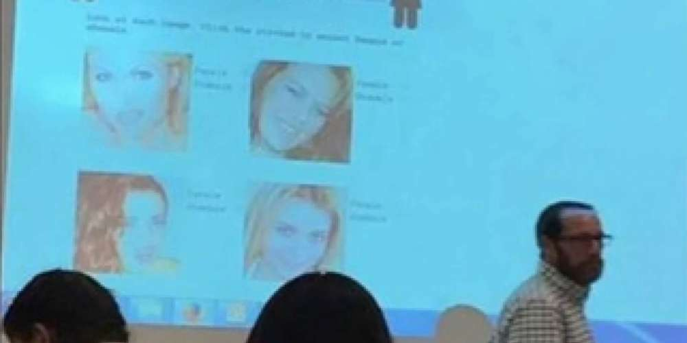 This New York College Professor Gave Students a Quiz Called 'Female or Shemale'
