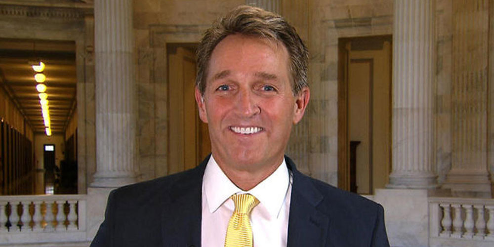 This Speech By Republican Sen. Flake Is a Brutal Takedown of the Trump Administration