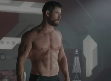 chris hemsworth shirtless scenes