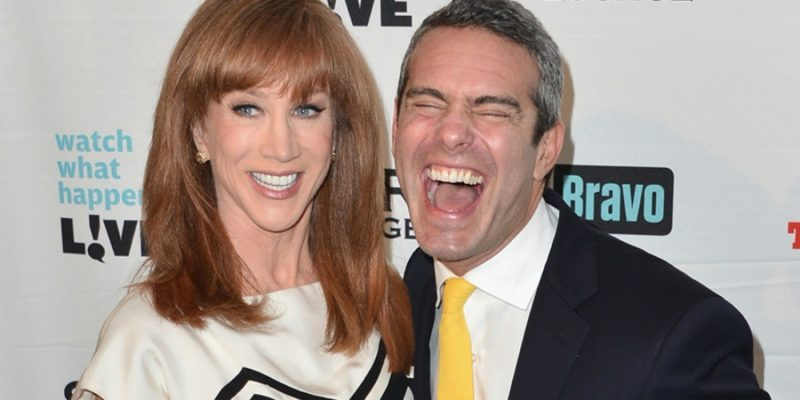 andy cohen kathy griffin at carnegie hall