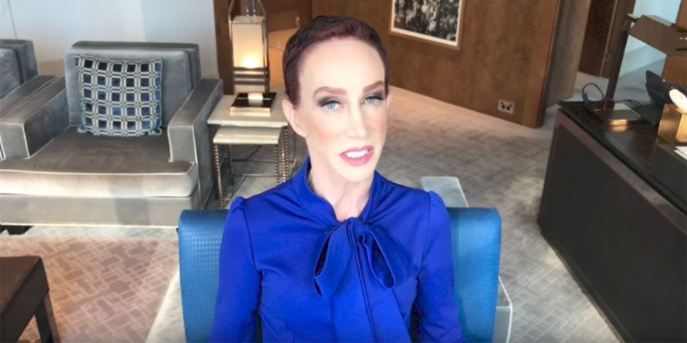 Kathy Griffin's New Video Accuses Andy Cohen of Cocaine Use and Harvey Levin of Trumpism
