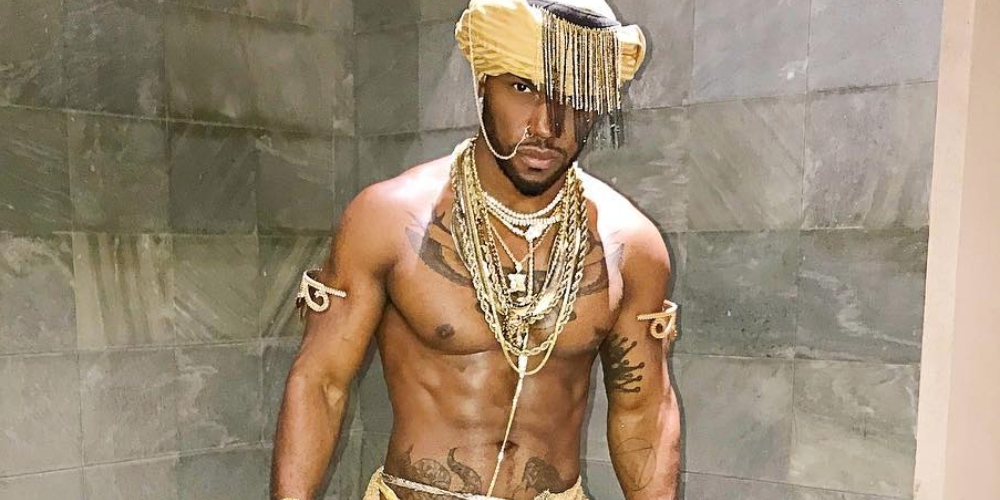 Out Rapper Milan Christopher S Halloween Costume Leaves Little To The Imagination Nsfw Hornet The Gay Social Network
