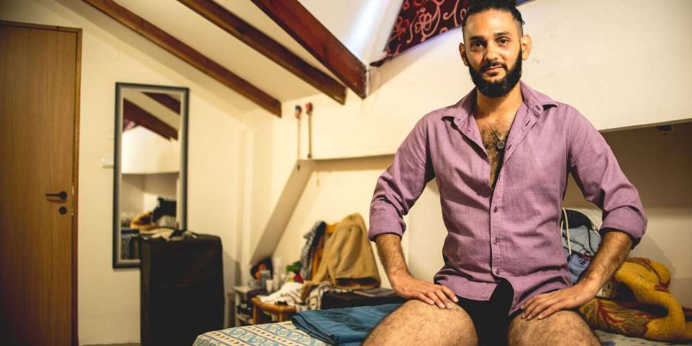 Check Out These 12 Intimate Shots of Jewish and Palestinian Gay Men Living in Haifa, Israel